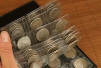 ANCIENT 120 PLATE SILVER COINS IRON COMMEMORATIVE COLLECTION