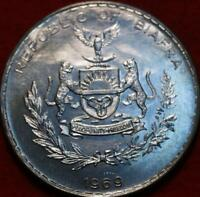 UNCIRCULATED 1969 BIAFRA ONE POUND SILVER FOREIGN COIN