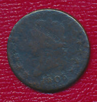 1808 CLASSIC HEAD LARGE CENT WONDERFUL TYPE COIN SHIPS FREE