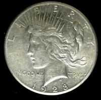 1928 PEACE DOLLAR CIRCULATED