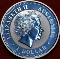UNCIRCULATED 2005 AUSTRALIA $1 ROOSTER SILVER FOREIGN COIN