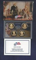 2008-S U.S. MINT PRESIDENTIAL DOLLAR COIN PROOF SET4 COINSBOXCOA