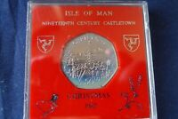 1982 ISLE OF MAN CHRISTMAS 50P COIN
