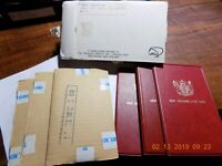 3  1975 NEW ZEALAND UNCIRCULATED COIN SETS   UNOPENED IN OR