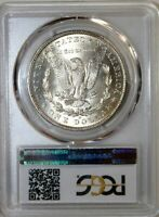 1888 O  MORGAN SILVER DOLLAR PCGS GEM  MS 65 A/ BLAST WHITE AND HAMMERED