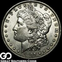 1897 O MORGAN SILVER DOLLAR SILVER COIN BU   BETTER DATE