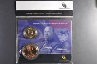 2012 GROVER AND FRANCES CLEVELAND FIRST SPOUSE PRESIDENTIAL COIN & MEDAL SET 2ND