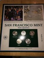 2012 SAN FRANCISCO MINT LIMITED EDITION COMMEMORATIVE COIN S
