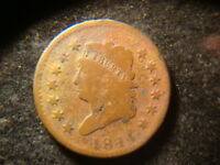 1814 FULL DATED CLASSIC  HEAD LARGE CENT  ANA