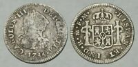 AMAZING     SILVER COLONIAL COIN  NICE DETAIL
