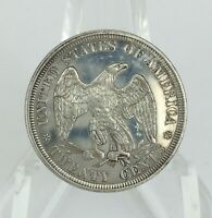 1876 TWENTY CENT PIECE 20C PROOF LIKE MS DETAIL WITH SURFACE ISSUES