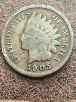 1905 INDIAN HEAD CENT PENNY 162