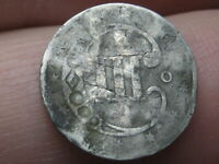 1851-O THREE 3 CENT SILVER TRIME-  NEW ORLEANS COIN