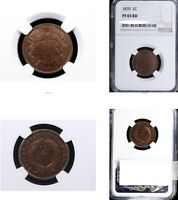 1870 2C PR65RD NGC-TWO CENTS---