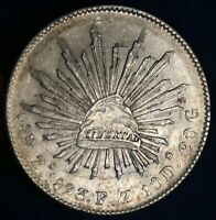 1893 ZS MEXICO 8 REALES SILVER COIN
