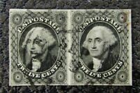 NYSTAMPS US STAMP  17 USED $550 PR