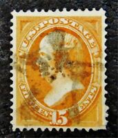 NYSTAMPS US STAMP  141 USED $1400 GRILL