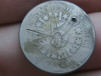 1866 OR 1867 SHIELD NICKEL 5 CENT PIECE- WITH RAYS, COUNTERSTAMPED