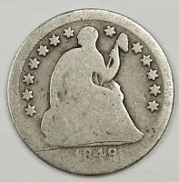 1849-O LIBERTY SEATED HALF DIME.  CIRCULATED.  114034