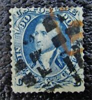 NYSTAMPS US STAMP  101 USED $2250 GRILL