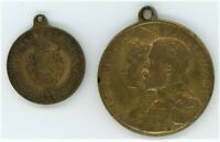 GREAT BRITAIN LOT OF 6 CORONATION MEDALS 2X 1902   1911   2X 1937   1953