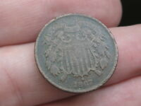 1867 TWO 2 CENT PIECE- CIVIL WAR TYPE COIN