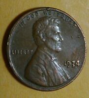 1934 LINCOLN CENT PENNY - CONDITION WORTH IT