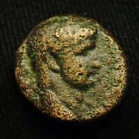23 ANTIOCH SYRIA EMP CLAUDIUS RV LARGE S C WREATH 14.78 GRAMS 22 3MM AD 42 54