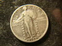 1926-S VF SOLID STANDING LIBERTY QUARTER MZX