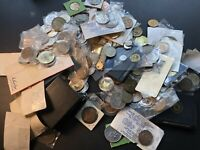 BULK LOT OF 200  ASSORTED MOSTLY MEDALS & TOKENS LOTA531 NEA