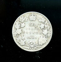 1907 CANADA 50 CENTS  A625