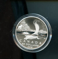 2015 CANADA $50 BEAVER. 3RD COIN IN THE SERIES. 99.99  PURE