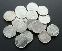 $1.80 FACE VALUE LOT OLD 1968 SILVER CANADA COINS CIRCULATED