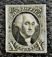 NYSTAMPS US STAMP  2 USED $1000