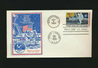 C76  MOON LANDING 1969 DUAL CANCELLED BUTLER CACHET SPACE FIRST DAY COVER UNADD