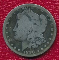 1898-S MORGAN SILVER DOLLAR LY CIRCULATED BETTER DATE SHIPS FREE