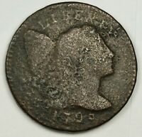 1795 LARGE CENT.   BETTER GRADE.  138141