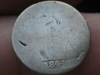 1844 P SEATED LIBERTY HALF DIME- LOWBALL, FILLER
