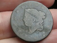1819 MATRON HEAD LARGE CENT PENNY- GOOD DETAILS, SMALL DATE