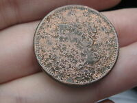 1839 BRAIDED HAIR LARGE CENT PENNY,