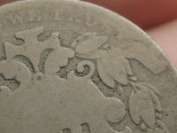 1868 SHIELD NICKEL 5 CENT PIECE- MULTIPLE DIE CUD,