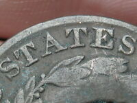 1831 MATRON HEAD LARGE CENT PENNY- OLD WASHER? MEDIUM LETTERS