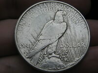 1926 D SILVER PEACE DOLLAR- FINE/VF DETAILS
