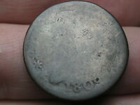 1809 CAPPED BUST HALF CENT- LOWBALL, HEAVILY WORN