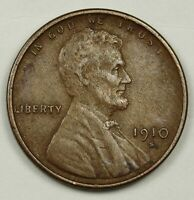 1910-S LINCOLN HEAD CENT.  X.F. DETAIL.  138445