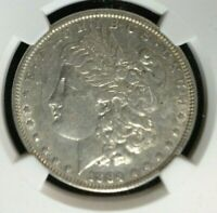 1884 MORGAN SILVER DOLLARNGC GENUINE VAM 3 LARGE DOT TOP 100 GREATNORTHWEST