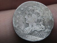 1829 CAPPED BUST HALF DIME