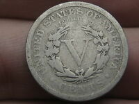1909 LIBERTY HEAD V NICKEL- VG DETAILS, FULL RIMS