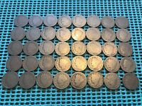 COMPLETE ROLL OF 40 1896 LIBERTY HEAD V NICKELS- ALL FULL DATES