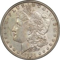 1884 MORGAN DOLLAR - VAM-3 DOT - HIGH GRADE EXAMPLE